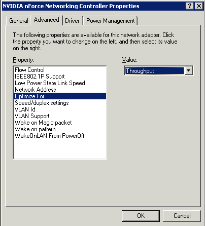 Increase Network Performance